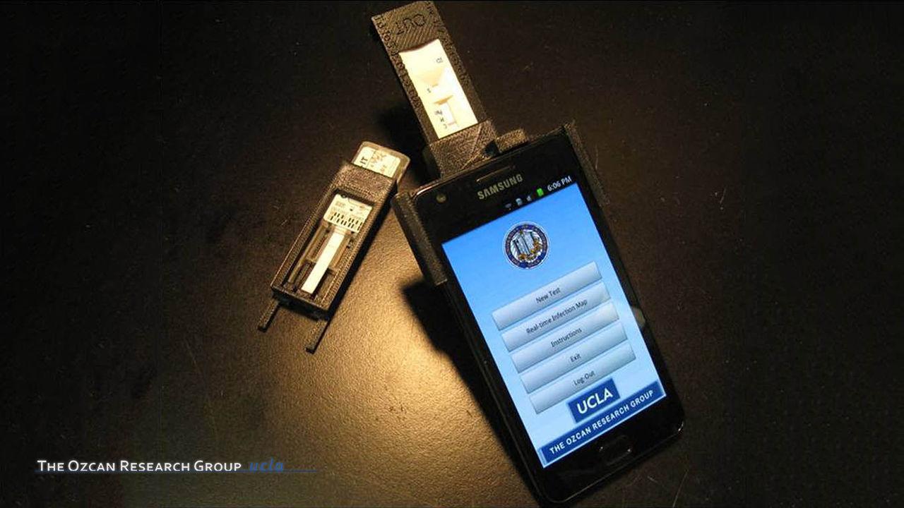 Integrated Rapid-Diagnostic-Test Reader Platform on a Cellphone