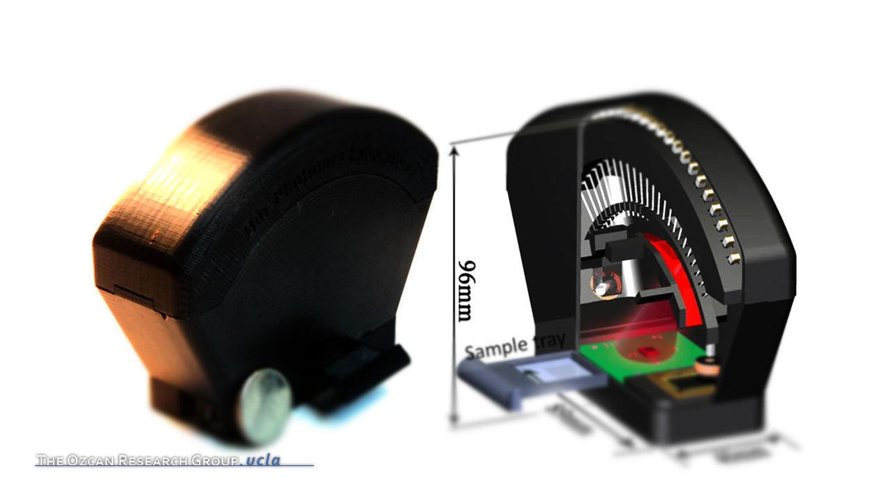 Field-Portable Lensfree Tomographic Microscope